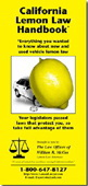Get your free California  Lemon Law Handbook today!